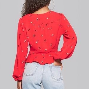 wild fable Tops - Floral Blouse